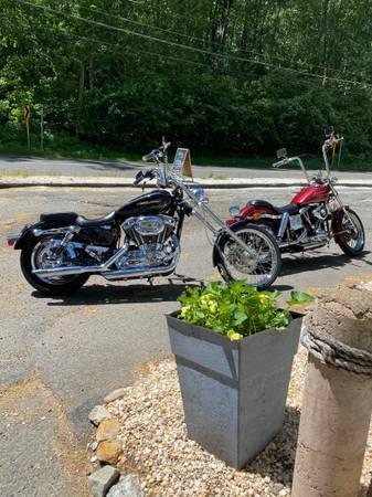 Photo 2004 Harley Davidson Sportster XL 1200 Custom - $4,200 (Shelton)