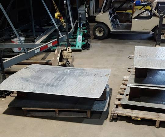 Photo Aluminum dock plates 48quot and 36quot wide - $125 (New Haven)