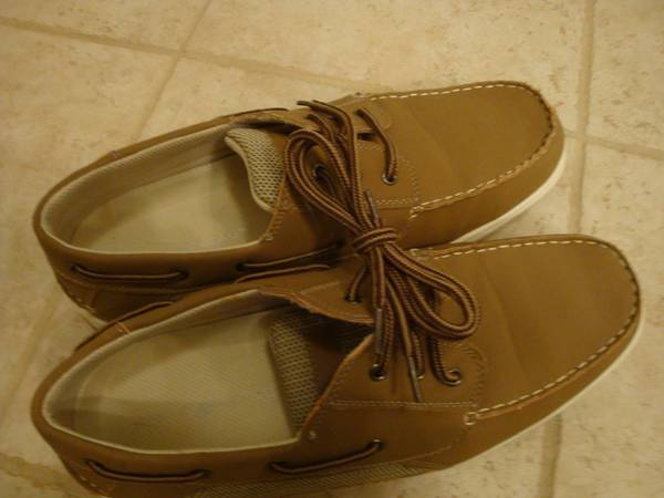 Photo Boat Shoes - Deer Stags - brown - size 12W - barely worn - $20 (Madison, CT)