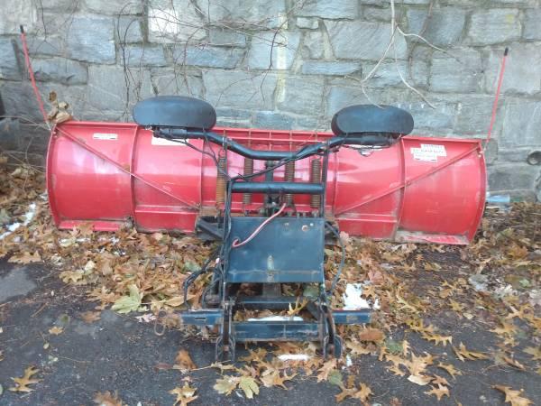 Photo Boss 9ft smartshield ultramount snow plow setup complete - $2750