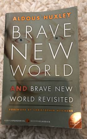 Photo Brave New World Aldous Huxley - $10 (East Haven)