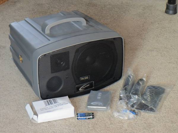 Photo Califone PA-300 Portable Small Event PA System - $110 (Milford)