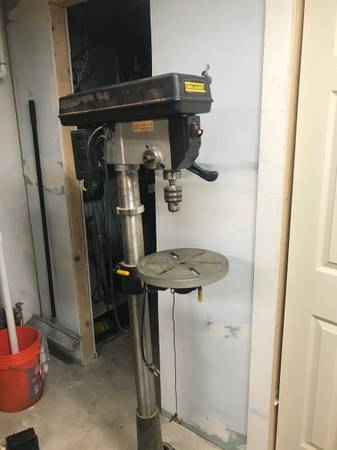 Photo Central machinery 34 hp floor standing drill press - $150 (Cheshire)