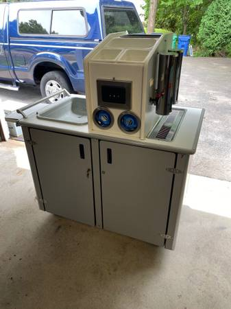 Photo Commercial portable coffee and beverage cart - $250 (Warwick RI)