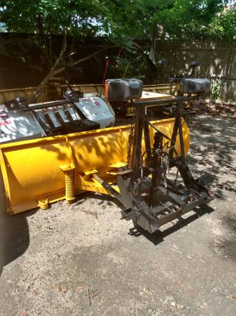 Photo Complete Fisher minute mount snow plow setup off of a 2000 Dodge ram - $1350