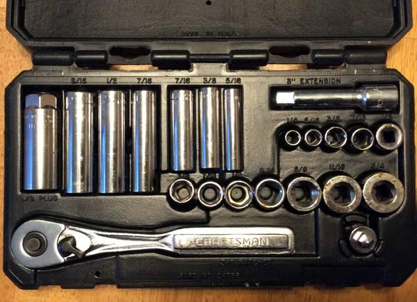 Photo Craftsman Socket Wrench Set - $45 (Monroe, CT)