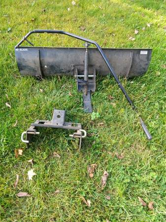 Photo Craftsman snow plow 46 blade - $120 (New Haven)