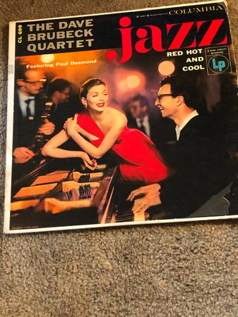 Photo DAVE BRUBECK Jazz Red Hot And Cool LP 1955 - Columbia CL 699. Conditi - $5 (West Haven)