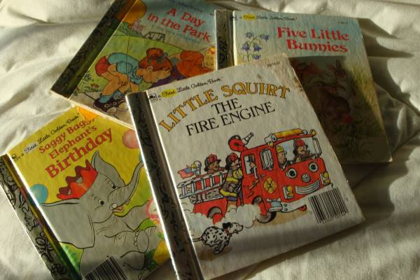 Photo First Little Golden Books - 6quottall x 5.5quotwide ($3.50  $2.50 respecti) (Madison, CT)