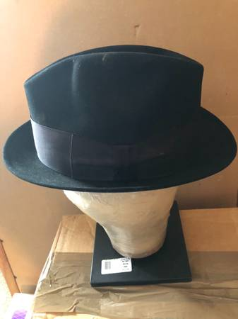 Photo Golden Coach By Dobbs Mens Hat Black Approx 22 Circumference - $25 (West Haven)