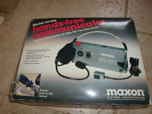 Photo Hands-Free Communicator - $15 (Madison, CT)