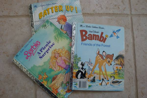 Photo Little Golden Books - 6.5quot tall x 8quot wide ($3  $4 respectively) (Madison, CT)