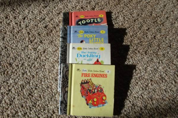 Photo Little Little Golden Books - 2.75quot tall x 2.75quot wide (Madison, CT)