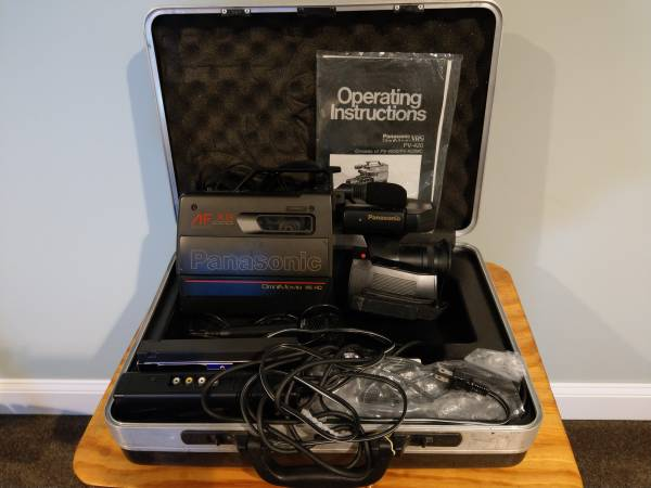 Photo Panasonic OmniMovie VHS Camcorder - $50 (Seymour)