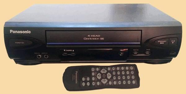 Photo Panasonic Omnivision VHS - $45 (Monroe, CT)
