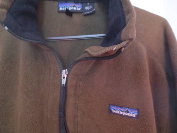 Photo Patagonia Retro Fleece Jacket  CK Leather Jacket - $35 (New Haven)