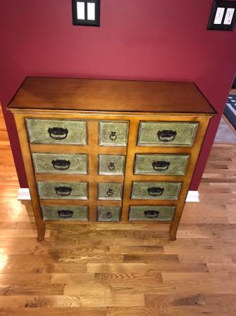 Photo Pier One Apothecary Cabinet For Sale in Excellent Condition - $175