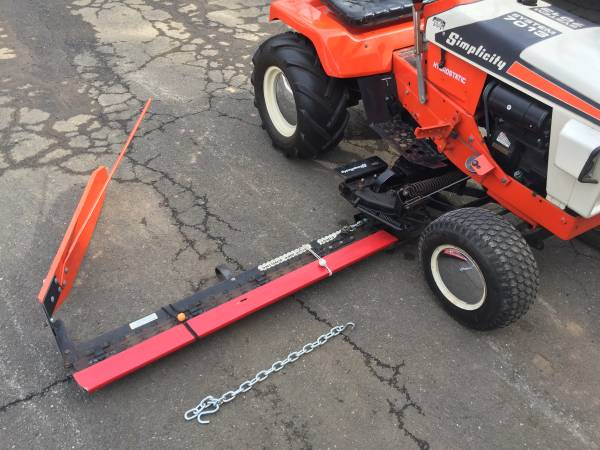 Photo Simplicity Garden Tractor Sickle Bar Mower Allis Chalmers Brush Hog - $599 (DURHAM)