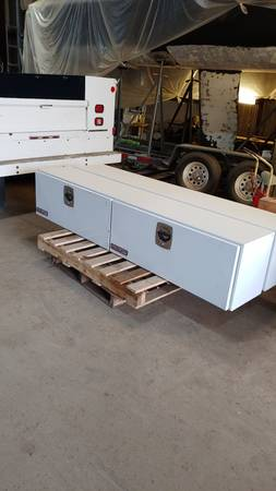 Photo Two WEATHER GUARD 90.25-in x 16.25-in x 18-in White Steel Truck Tool B - $1,250 (New Haven)