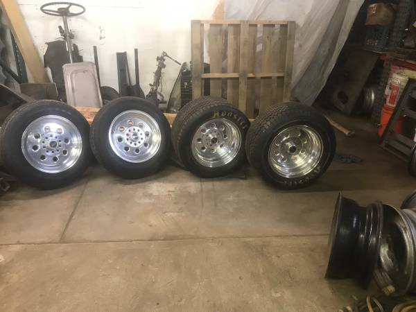 Photo WELD 15 DRAG LITE RIMS WITH TIRES VERY NICE COND 5x4-34 5x 4-12 - $1200 (NORTH HAVEN CT)