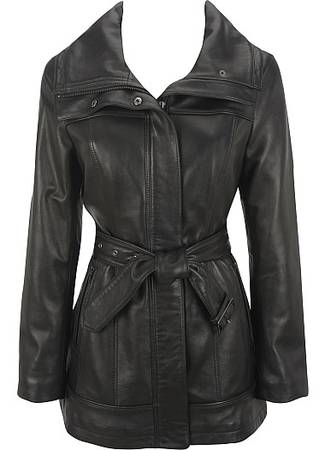 Photo Womens Leather Jacket,black,New,never worn - $75 (New Haven)