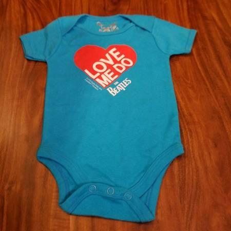 Photo 12-18 Month Beatles Blue Body Suit Love Me Do Milktology Prototype - $50 (Little Ferry)