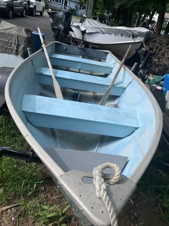 Photo 12 ft. aluminum boat SOLD - $550 (Budd Lake)
