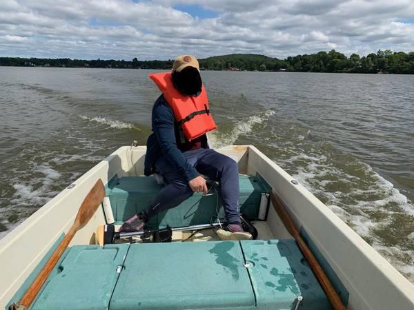 Photo 12 ft. game fisher fiberglass boat - $1,400 (Budd Lake)