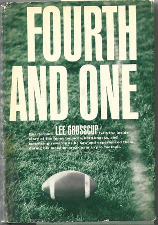 Photo (1963) Lee Grosscup - NY Giants (Rare Book - 1st Edition) - $4 (Long Valley)