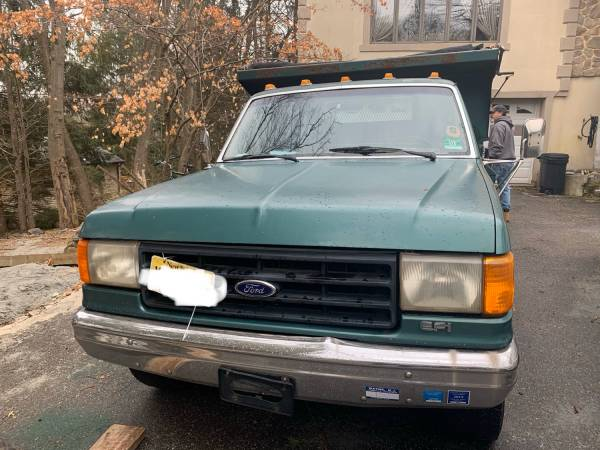 Photo 1988 F350 Dually Dump - $4000 (Wanaque)