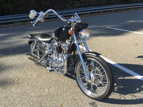 Photo 2002 Harley-Davidson 1200 XL Custom - $5,000 (Fort Lee)