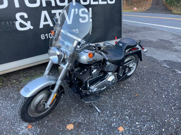 Photo 2003 Harley Davidson Fat Boy Only 6000 Miles Easy Financing - $6,999 (ibuypowersportsinc)