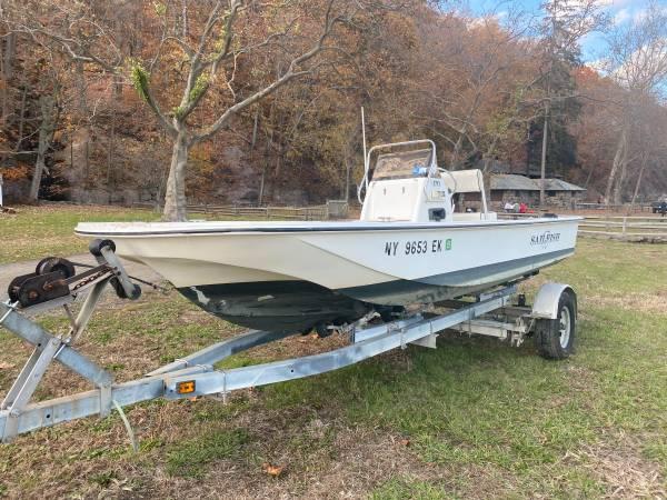 Photo 2003 Sailfish 170 Center Console Boat - $600 (Englewood, NJ)