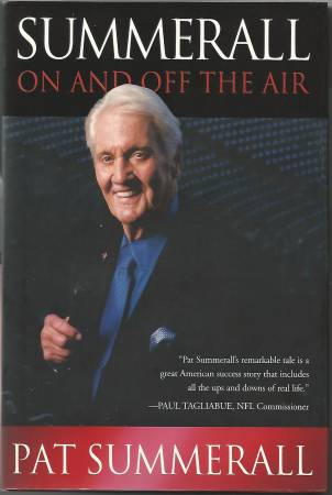 Photo (2006) Pat Summerall - Sportscaster  NY Giants (Book - 1st Edition) - $4 (Long Valley)