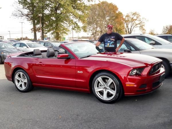 Photo 2014 Mustang GT 5.0 Convertible - $20500 (Hewitt, NJ)