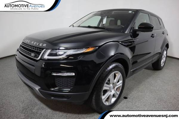 Photo 2017 Land Rover Range Rover Evoque, Narvik Black - $24,995 (Automotive Avenues)