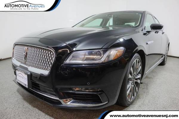 Photo 2017 Lincoln Continental, Black Velvet - $30,995 (Automotive Avenues)