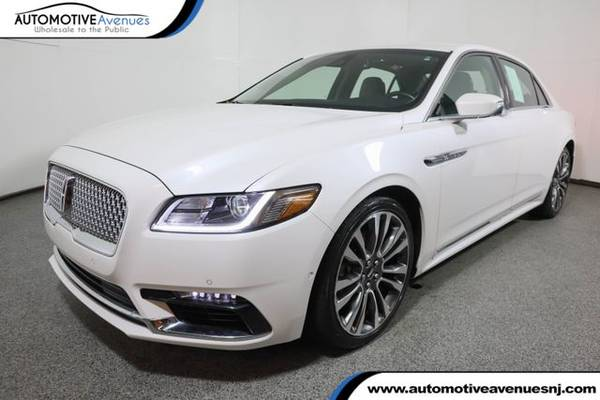 Photo 2017 Lincoln Continental, White Platinum Metallic Tri-Coat - $29,995 (Automotive Avenues)
