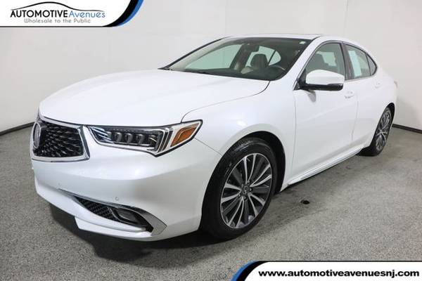 Photo 2018 Acura TLX, Bellanova White Pearl - $26,995 (Automotive Avenues)