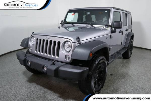 Photo 2018 Jeep Wrangler JK Unlimited, Billet Silver Metallic Clearcoat - $23995 (Automotive Avenues)