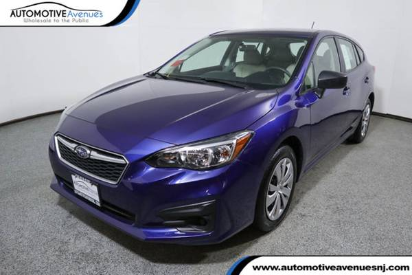 Photo 2018 Subaru Impreza, Lapis Blue Pearl - $14995 (Automotive Avenues)
