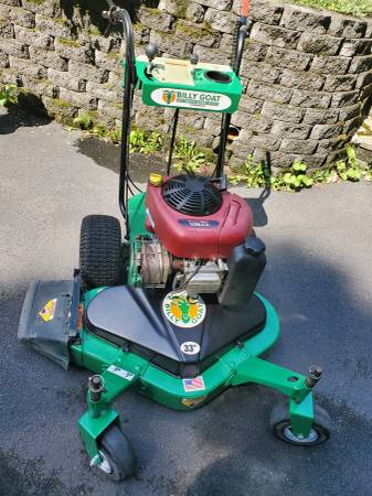 Photo 33quot Billy Goat Commercial Mower - $950 (Lake Hopatcong)