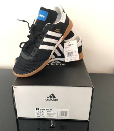 Photo Adidas Copa 70Y TR 39Black Gum39 - Size 8 - $60 (Union, NJ)