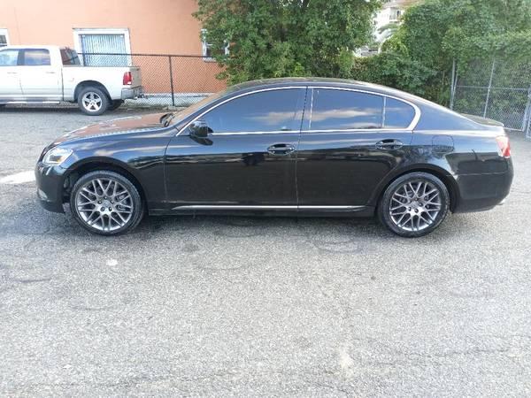 Photo (BLACK)2006 LEXUS GS300 AWD SPORT(NAVI,CAMERA) - $6,000 (Newark nj)