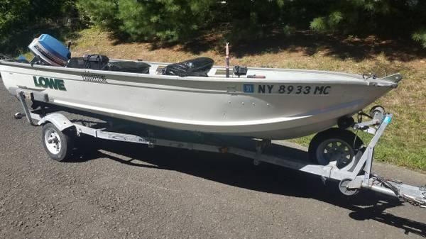Photo Boat with trailermotor for sale - $2,250 (Suffern, NY)