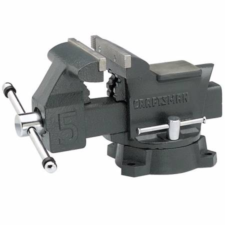 Photo Brand New Craftsman 5quot Bench Vise (51855) - $58 (Maplewood)