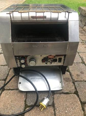 Photo Commercial Conveyor Toaster - Hatco TQ440H - $175 (Upper Saddle River)