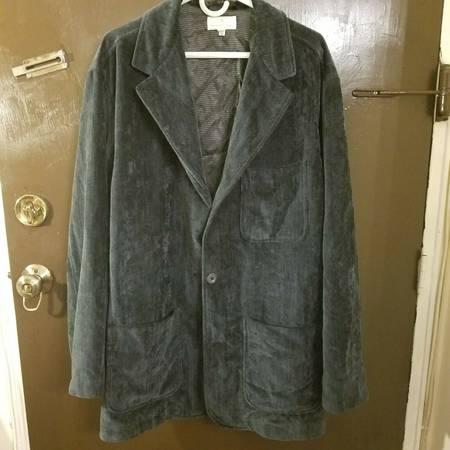 Photo Ermenegildo Zegna 56 US 46 Gray Velvet Blazer Dinner Jacket - $299 (Little Ferry)
