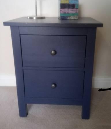 Photo Ikea hemnes nightstand (blue) - $65 (Union)