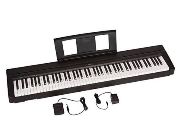 Photo NEW Yamaha P71 88-Key Weighted Action Digital Piano With Sustain Pedal And Power - $375 (Morristown)